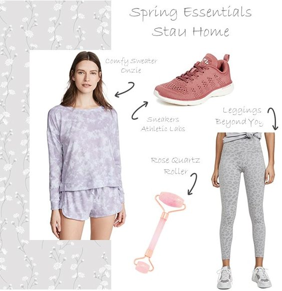 Spring Wishlist | Staying at home