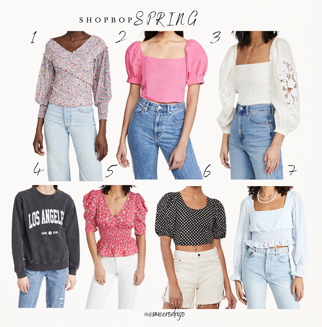 7 Musthave Tops for Spring | Shopbop