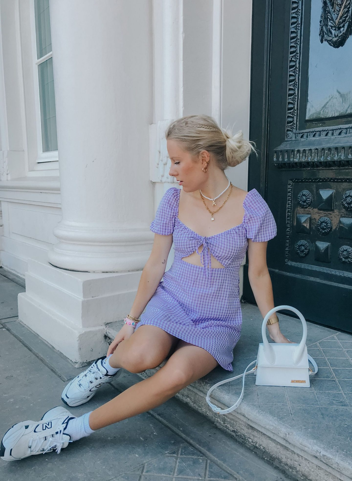 Gingham Spring Dress Esmée Rodrigo